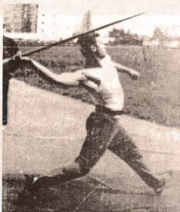 Победитель Кубка Европы в метании копья А. Кузнецов, 80-90-е годы