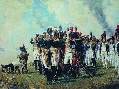 Василий Верещагин. «Наполеон I на Бородинских высотах». 1897 г.