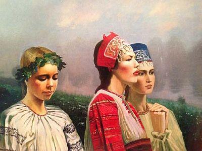Константин Мирошник. «На выданье». 1997 г.