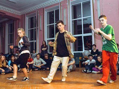 Танцы 3x3