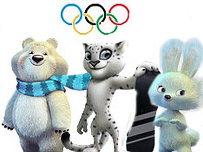 Белый медведь, леопард и заяц