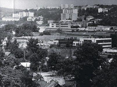Панорама Заднепровья. 70-е годы XX века